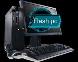 Oferta Lenovo Intel Dual Core Completo con monitor 17 factura. Garantí