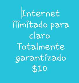 Internet Ilimatado para Claro