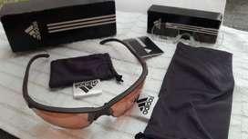 adidas, Gafas Deportivas - incluye inserto para lentes.