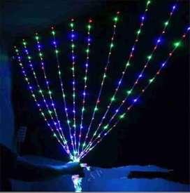 Luz Luces Cortina LED 5 x 3 cajón de 12 unidades