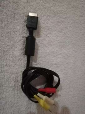 Cable de video RCA