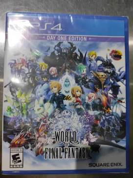 Videojuego World Of Final Fantasy Ps4 Day One Edition