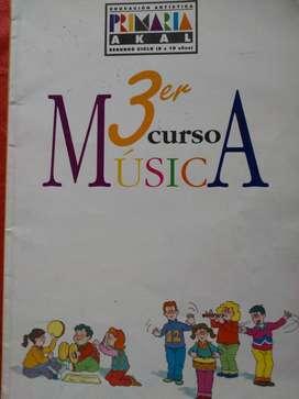 3° CURSO DE MUSICA     AKAL