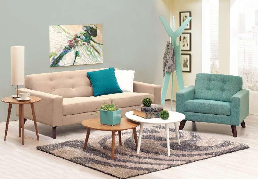 Salas, mesa centro, sofas, mesas auxiliares, alfombras y mas ! 0