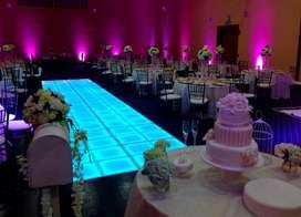 iluminacion led de ambientacion Pista de Baile Led par 64