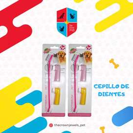 CEPILLO DE DIENTES DOBLE