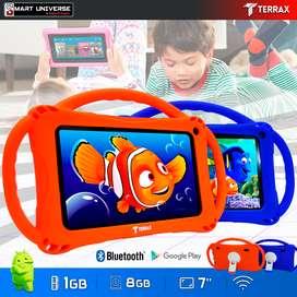 Tablet  Para Niños 7 Pulgadas Android  Wifi  Camara 1GB 8GB