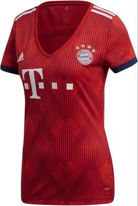 Camiseta adidas Bayern Munich Local Mujer Original