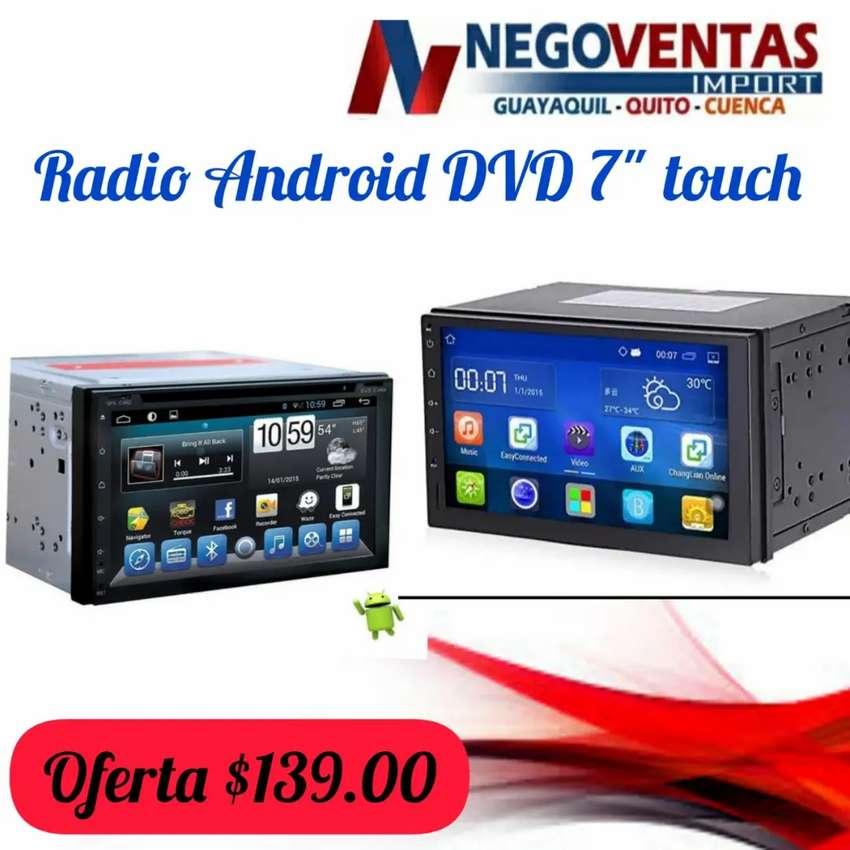 Radio Android dvd 7 touch 0