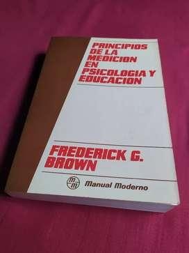 Libro medición en psicología