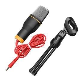 Microfono condensador con Tripode