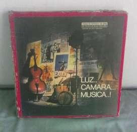 Lp vinilo Luz Camara Musica