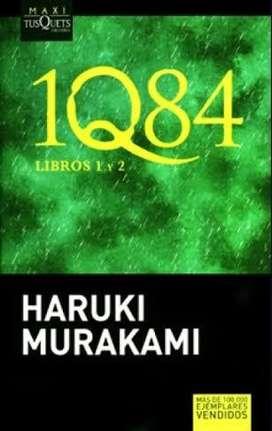 1Q84, HARUKI MURAKAMI, Maxi Tusquets