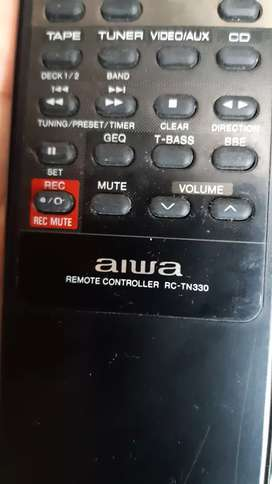 Control remoto Aiwa RC-TN330