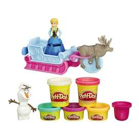 Play Doh Aventura en Trineo Frozen Diney