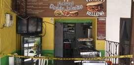 Venta de negocio de comidas rápidas