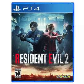 Resident Evil 2 PS4 Cambio