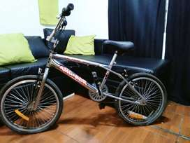 Bicicleta cromada rodado 20
