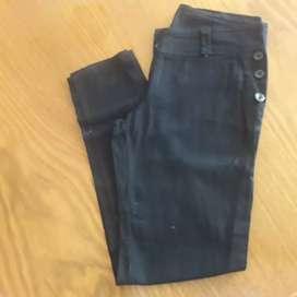 Pantalon gabardina negro talle 2
