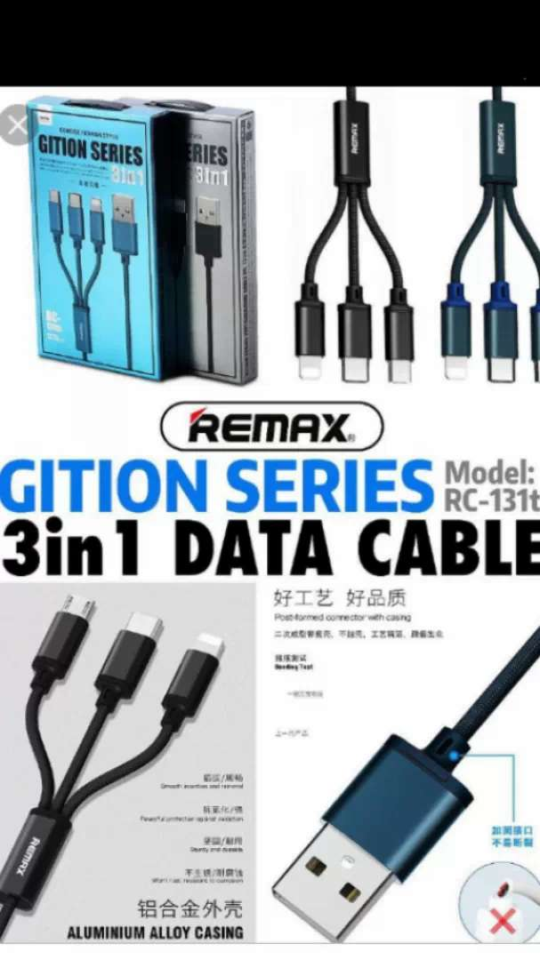 Cable celular remax 3en1 ,2.8amp 0