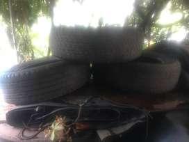VENDO 3 GOMAS USADAS CHATA 225X65X17