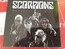VENDO CD DOBLE SCORPIONS