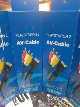 Cables av para play 2