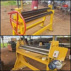 Dobladora; Roladora de tool manual y con motor capacidad hasta 4 mm