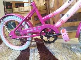 Bicicleta de niña - Rodado 16