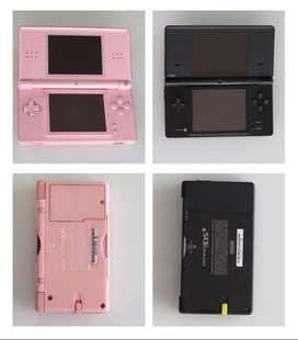 Nintendo Ds Lite Rosado Y Nintendo Dsi Negro