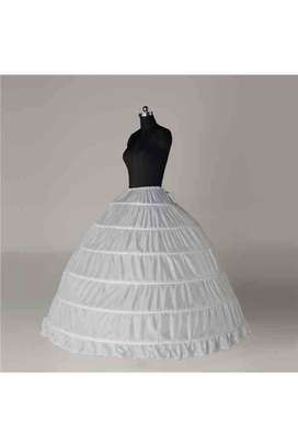 Enagua Can Can para vestido de novia y de fiesta 6 aros