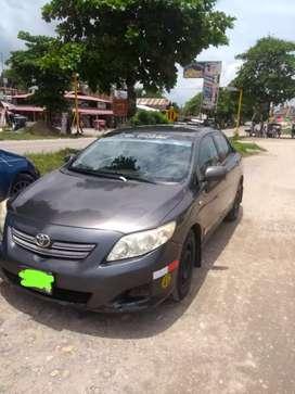 Vendo Toyota Corolla  año 2009
