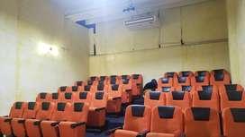 Sillas reclinables teratro,cine,sala de espera..