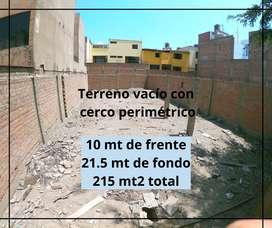 Venta de Terreno en Av. La Fontana - La Molina - Precio de Ocasión