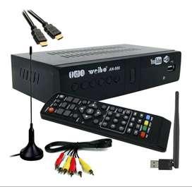 Decodificador Tdt Dvb T2 Antena Wifi Youtube Hdmi Rca Usb