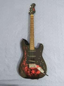 Guitarra Jaxville  +  amplificador fender 10G
