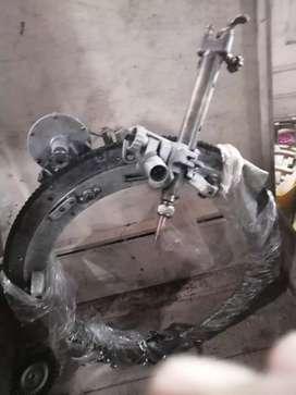 Biseladora de tubería acero carbono americana