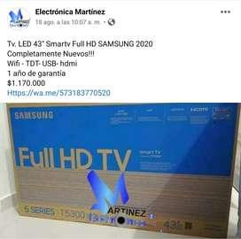 "Tv. LED 43"" Smartv Full HD Samsung 2020"