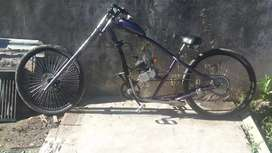 Vendo o permuto bici moto chooper king