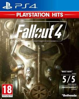 Juego fallout 4, 76 y 3 ps4