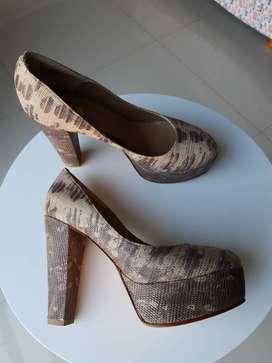 Zapatos Animal Print  Petite Maison