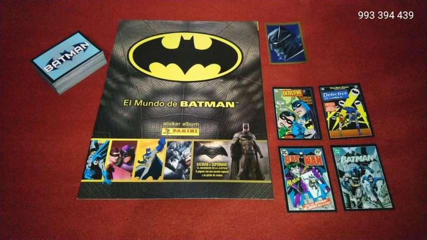 El Mundo de Batman Panini Set Completo 0