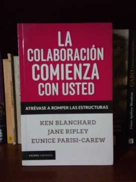 La colaboración Empieza con Usted. BLANCHARD, Ken y PARISI, Eunice-Carew. Paidos ed.