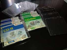 cajas para  CD/DVD