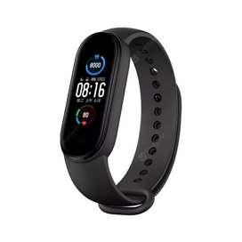 M5 Reloj de Deportes Inteligente con Rastreador de Ejercicios Control de Teléfono Móvil Bluetooth Música - Negro