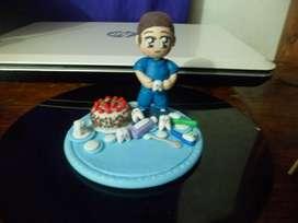 muñecos para tortas