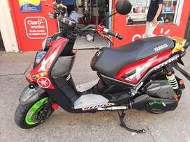 Moto Yamaha bws 2014