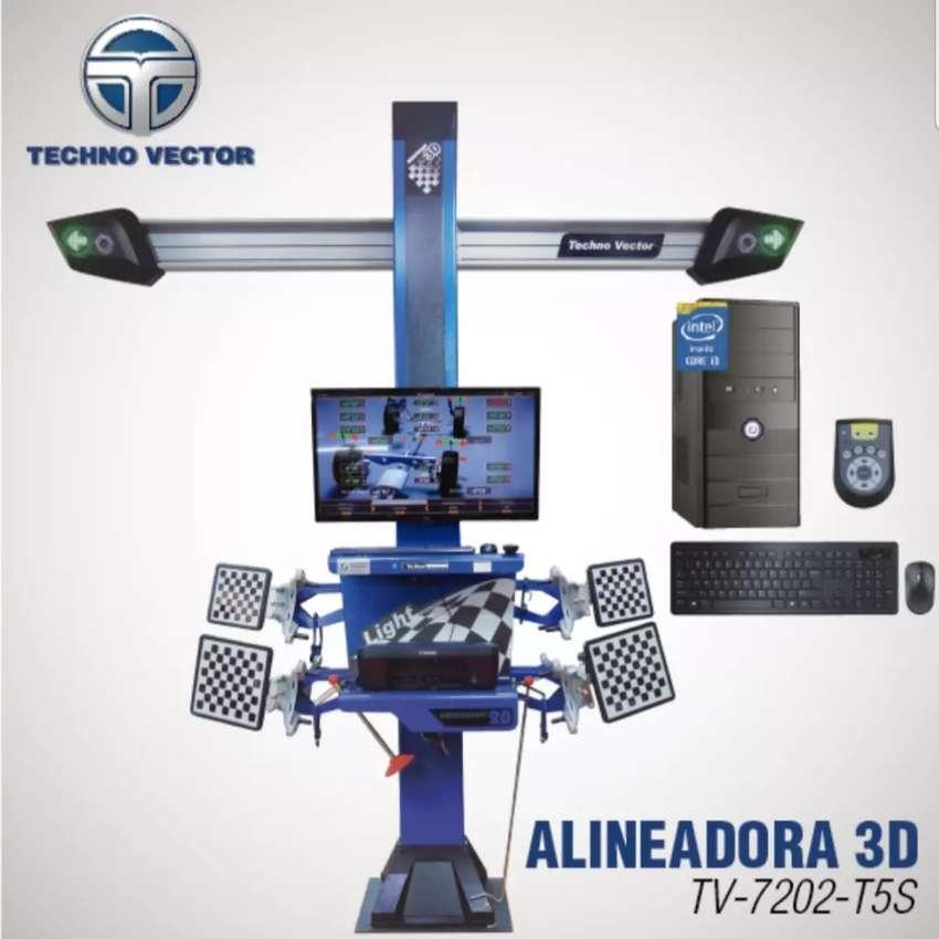 Alineadora 3D Technovector