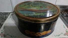 Antigua lata de galletitas Danesas Masters