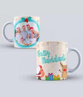 Jarritos navideños personalizados a su gusto. Descuento al por mayor